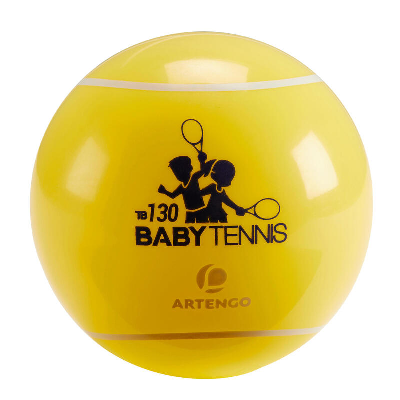 BALLE DE BABY TENNIS TB130 JAUNE