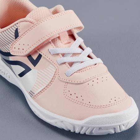 נעלי טניס דגם TS130 לילדים – ורוד/לבן