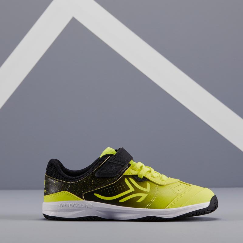 Kids' Tennis Shoes TS160 - Black/Yellow