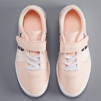 CHAUSSURES ENFANT TENNIS ARTENGO TS130 JR PINK WHITE