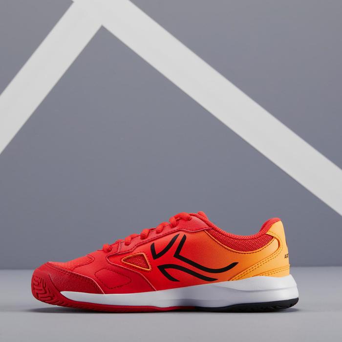 Tennisschoenen voor kinderen TS560 oranje/rood
