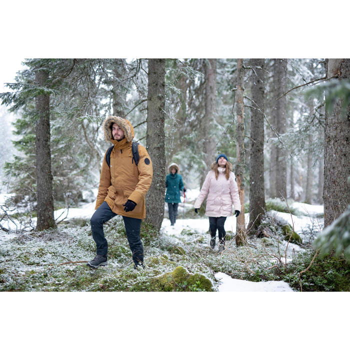 Chaussures chaudes imperméables de randonnée neige - SH500 X-WARM - Mid Homme.