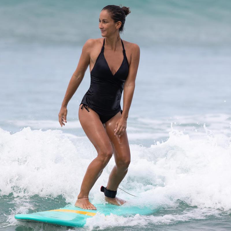 Women's Surf Swimsuit Tankini - Ines Black