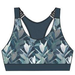 女款有氧健身運動內衣900 - 翡翠綠