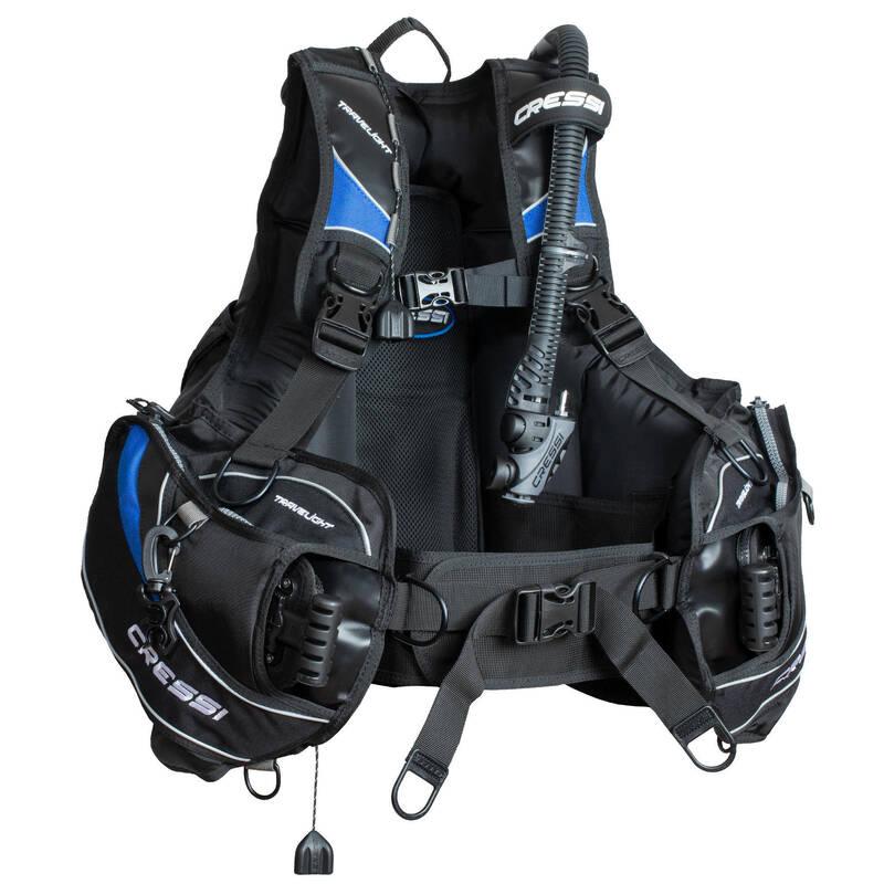 VYBAVENÍ A DOPLŇKY NA POTÁPĚNÍ Potápění a šnorchlování - ŽAKET TRAVELIGHT CRESSI - Potápění