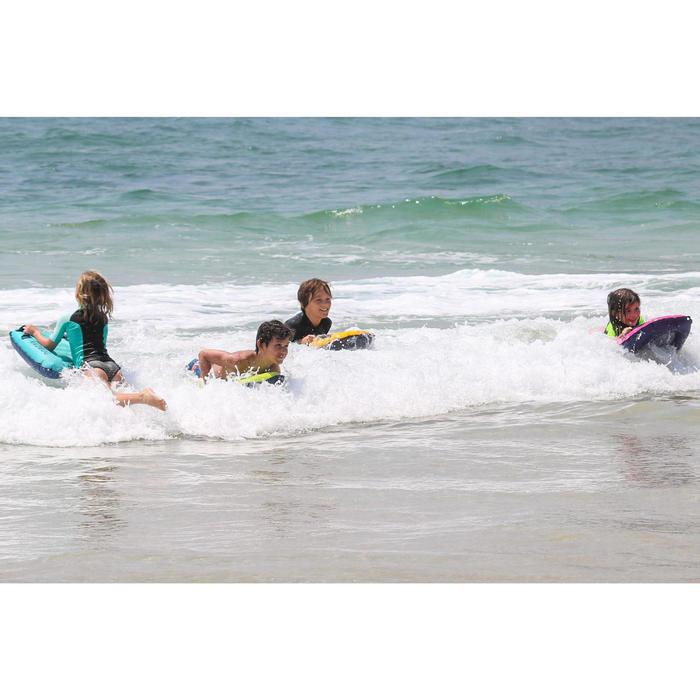 Bodyboard enfant DISCOVERY gonflable rose 4 ans-8 ans (15-25Kg)
