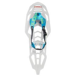 Raquetes de neve grande encordoamento TSL symbioz hyperflex racing azul