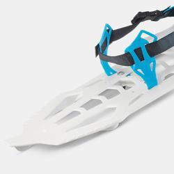 Raquettes à neige grands tamis TSL symbioz hyperflex racing bleu