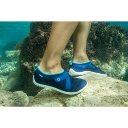 Waterschoenen voor volwassenen Aquashoes 500 Turquoise