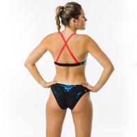 Women's Swimming Swimsuit Bottoms Jana Leo - Blue and Black