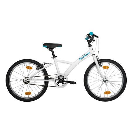 Kids' Hybrid Bike 100 ORIG 6-8 White