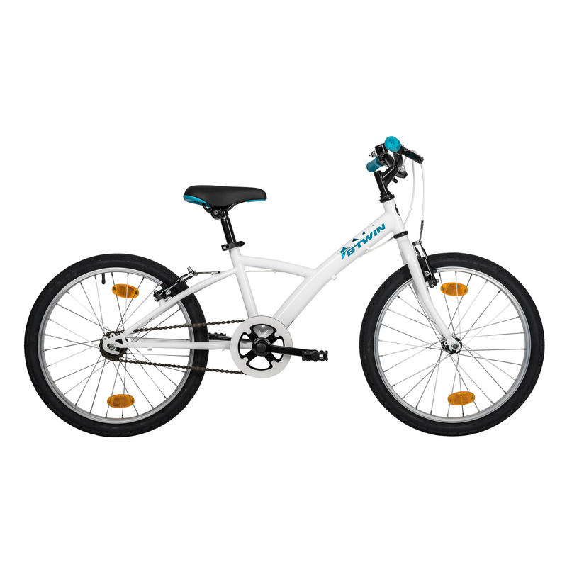 Kids' Hybrid Bike 100 ORIG 6-8 White