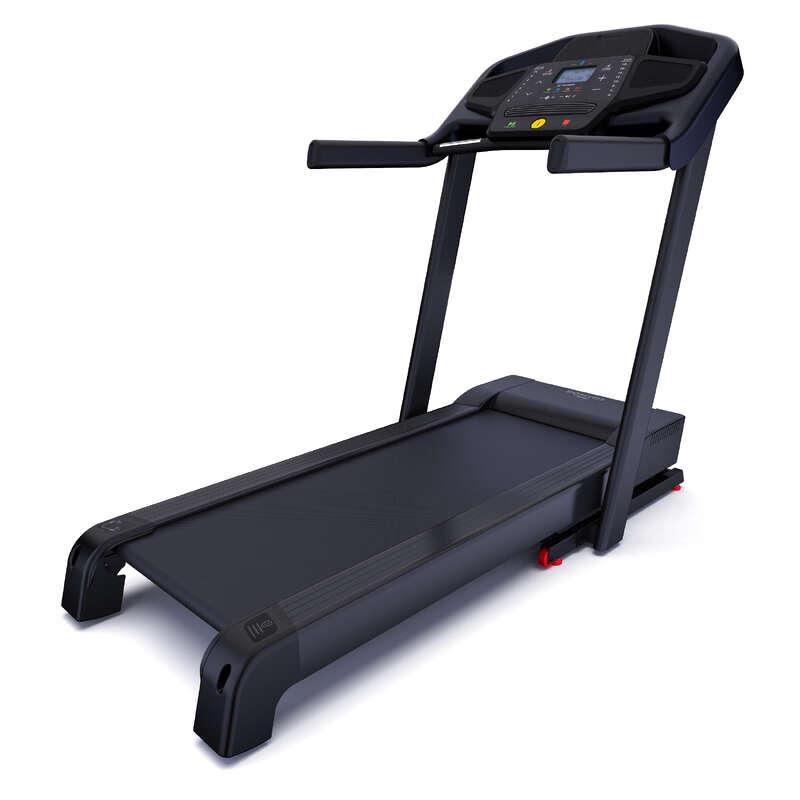 BANDĂ DE ALERGARE SAU DE MERS FITNESS CARDIO Fitness Cardio, Bodybuilding, Crosstraining, Pilates - Bandă de alergat T900C DOMYOS - Aparate fitness cardio