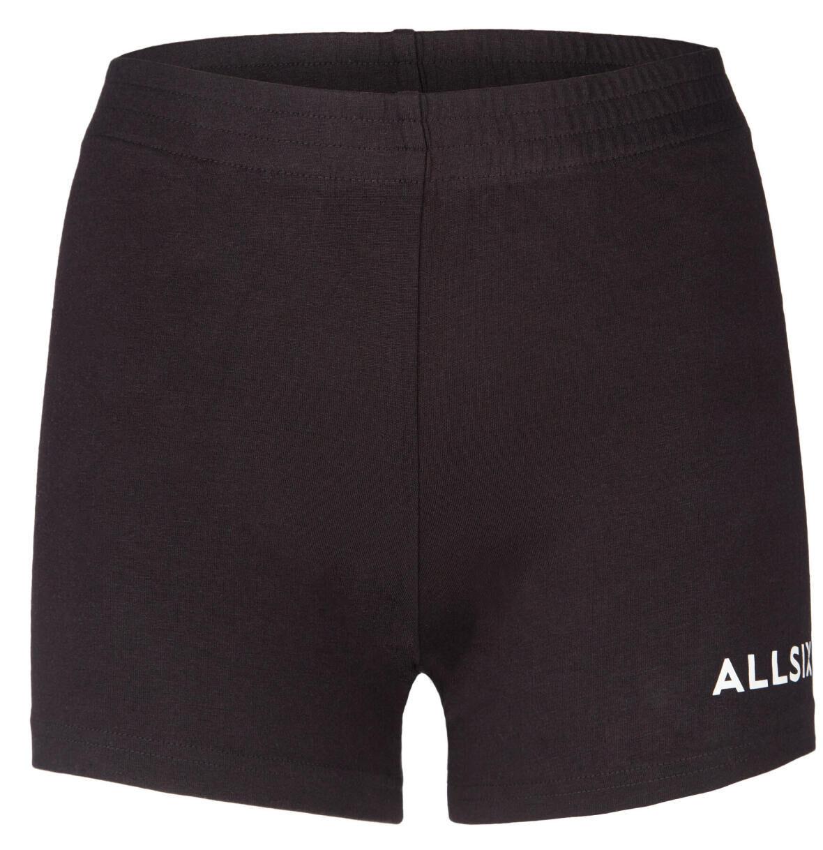 short de volleyball femme noir