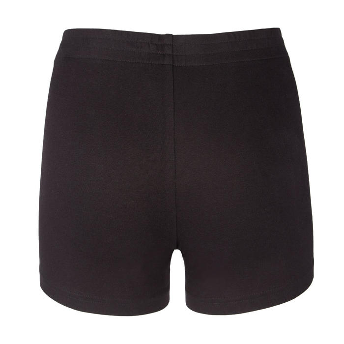 SHORT DE VOLLEY-BALL V100 FILLE NOIR