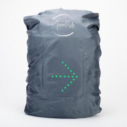 Couvre sac avec frein automatique et clignotants