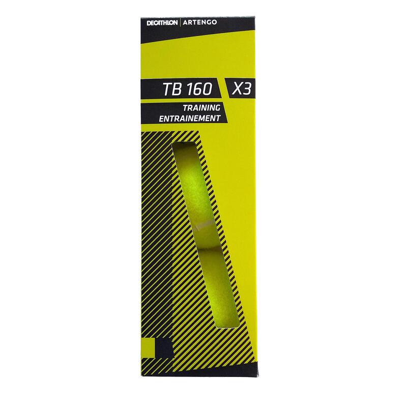 Tenis Topu - 3 adet - Sarı - TB160