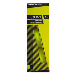 Tennis Ball TB160 Tri-Pack - Yellow
