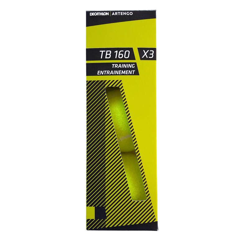 TENISZLABDÁK Tenisz - Teniszlabda TB160, 3 db ARTENGO - Tenisz felszerelés