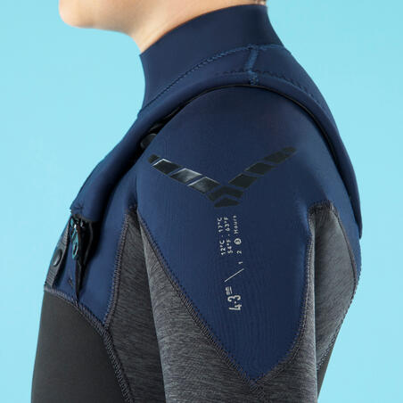 Kids' Full Wetsuit 4/3 mm 900
