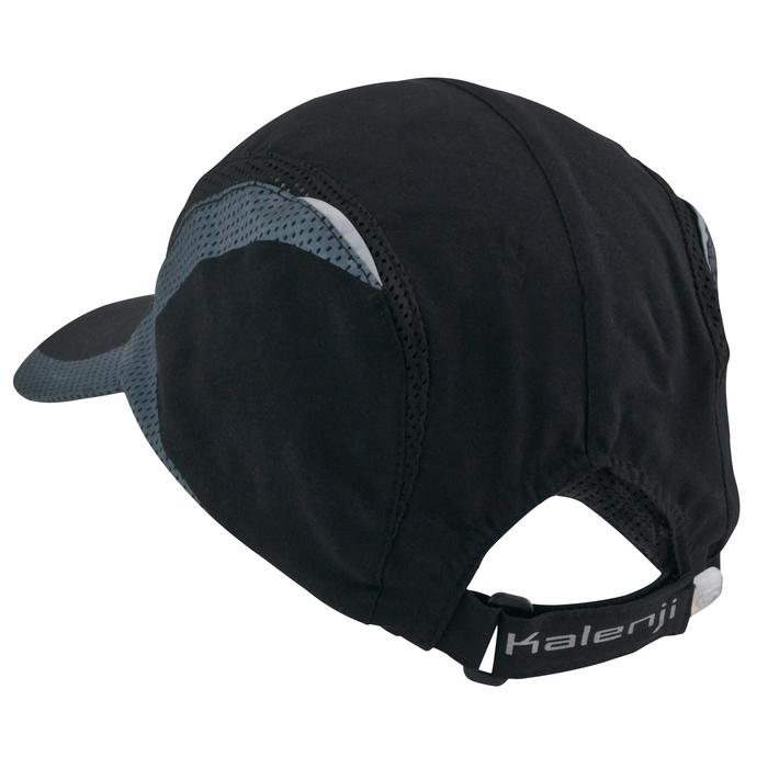 MEN'S RUNNING CAP BLACK HEAD SIZE 55-63 cm