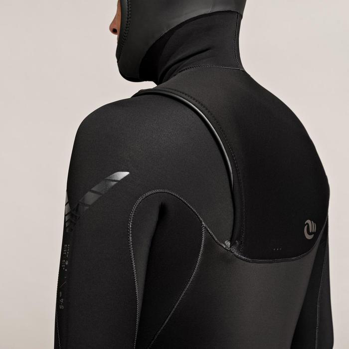 Neoprenanzug Surfen 900 5/4mm mit Kopfhaube Herren