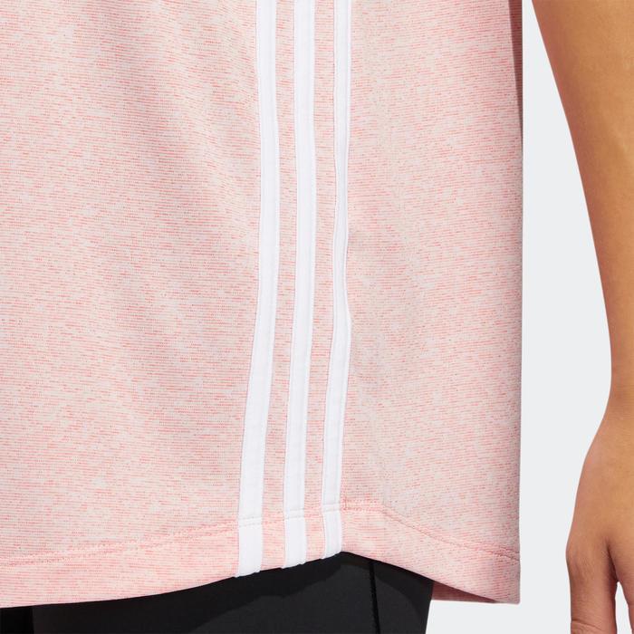 Cardiofitness T-shirt voor dames roze