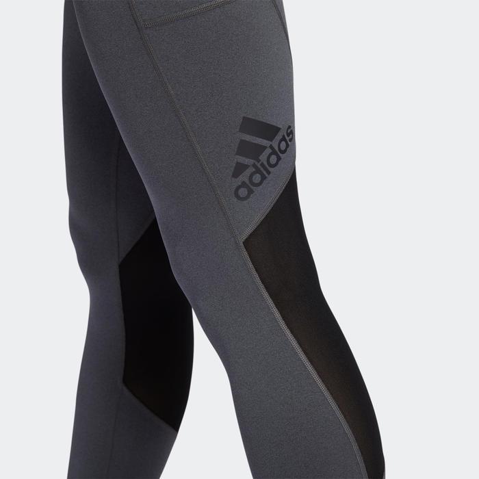 Legging cardio fitness femme gris