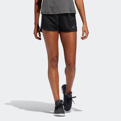Short de fitness Adidas pacer 3-stripes knit noir femme