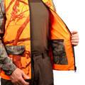 REFLEXNÍ OBLEČENÍ NA NAHÁŇKU/ČÍHANOU Myslivost a lovectví - LOVECKÁ BUNDA 100 FLUO SOLOGNAC - Myslivecké oblečení