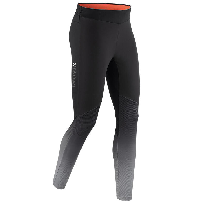 Men's Cross-Country Ski Leggings XC S 500 - Black