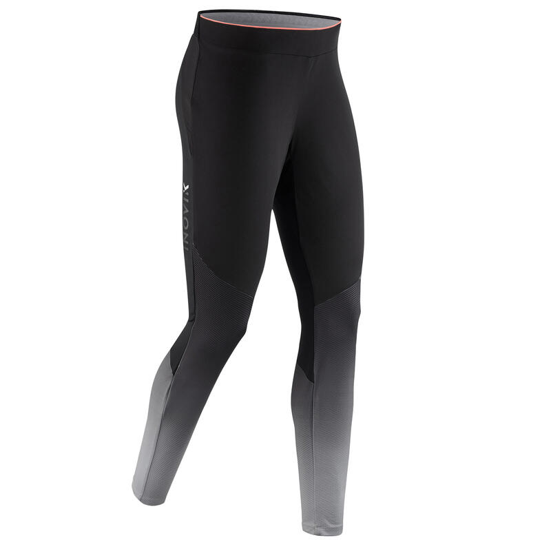 Collant de ski de fond noir XC S TIGHT 500 -FEMME