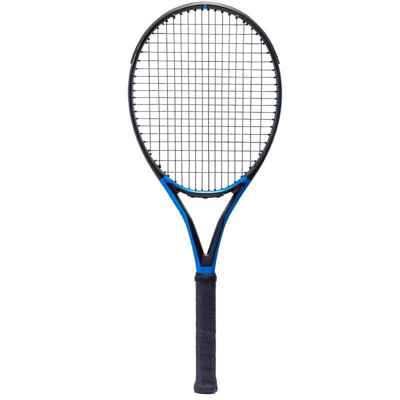Raqueta de tenis adulto TR930 SPIN negro azul