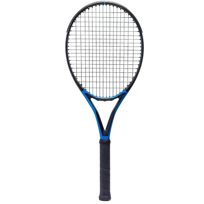 Tennisschläger TR930 Spin Pro Erwachsene schwarz/blau
