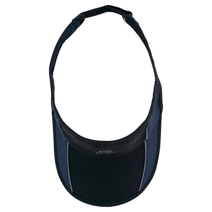 Verstelbare zonneklep voor hardlopen zwart 55-63 cm