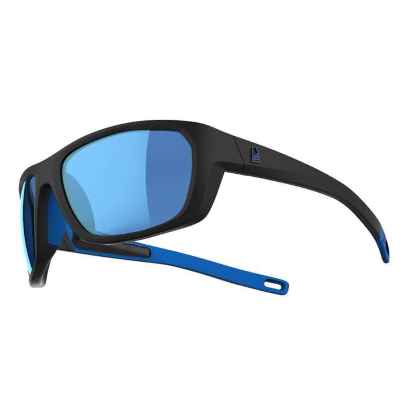 Gafas Sol Vela 500 Adulto Negro Polarizadas Flotantes Talla M
