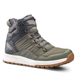 Chaussures chaudes imperméables de randonnée neige - SH100 X-WARM - Mid Homme.