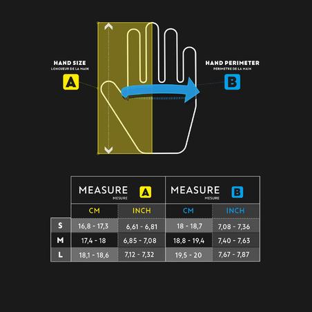 Women's right-handed soft golf glove white