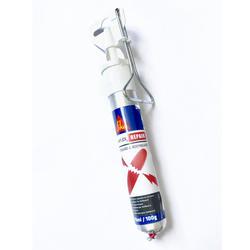 Cola mástique Sikaflex para reparação de uma prancha de espuma Surf/bodyboard.