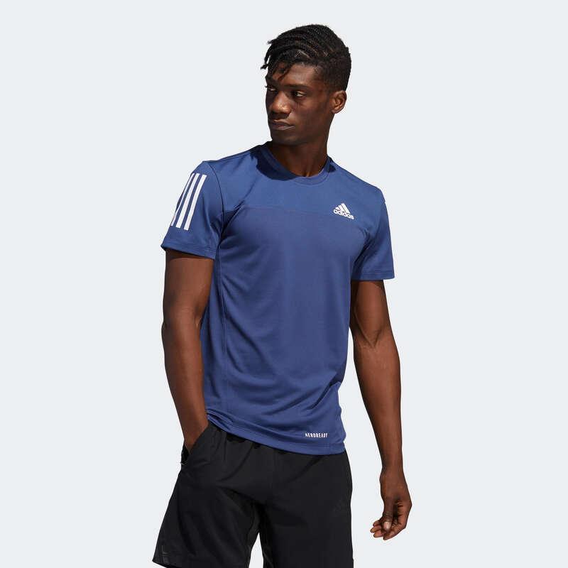 ROUPA PRINCIPIANTE CARDIO HOMEM Cardio Training - T-shirt Homem Adidas Azul ADIDAS - Cardio Training
