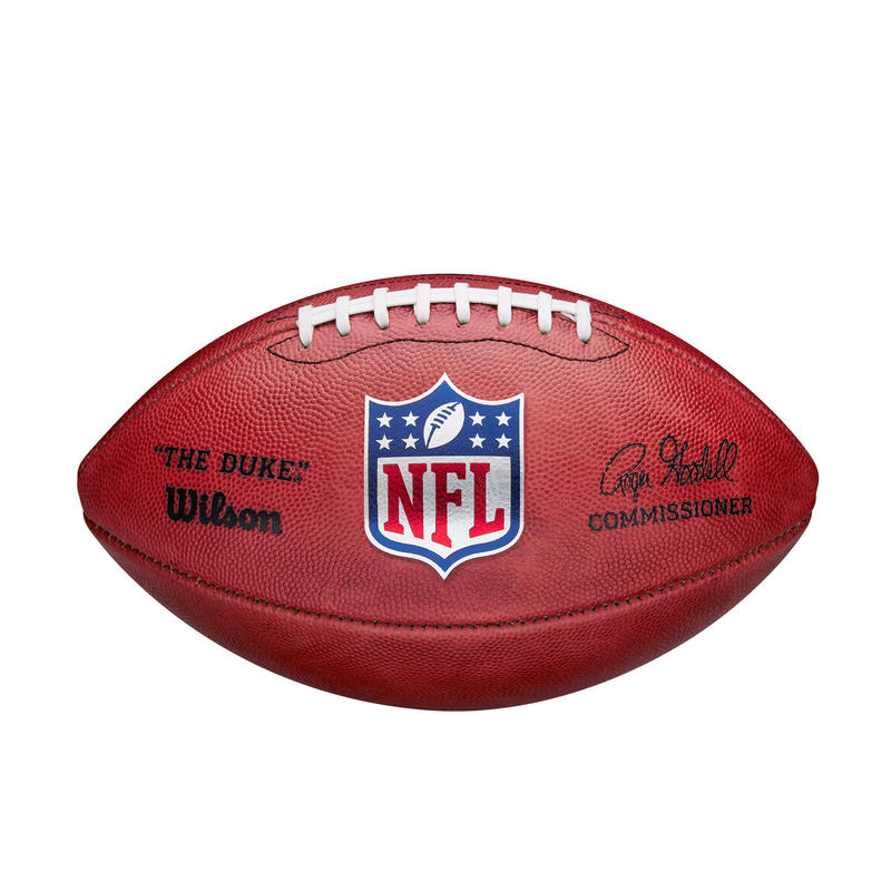 Balón Fútbol Americano Wilson NFL Duke Game de piel