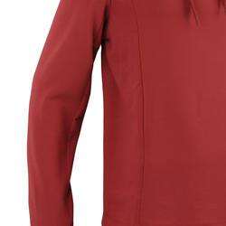 男款慢跑連帽外套RUN WARM+紅色