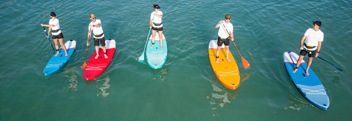 stand up paddle debutant