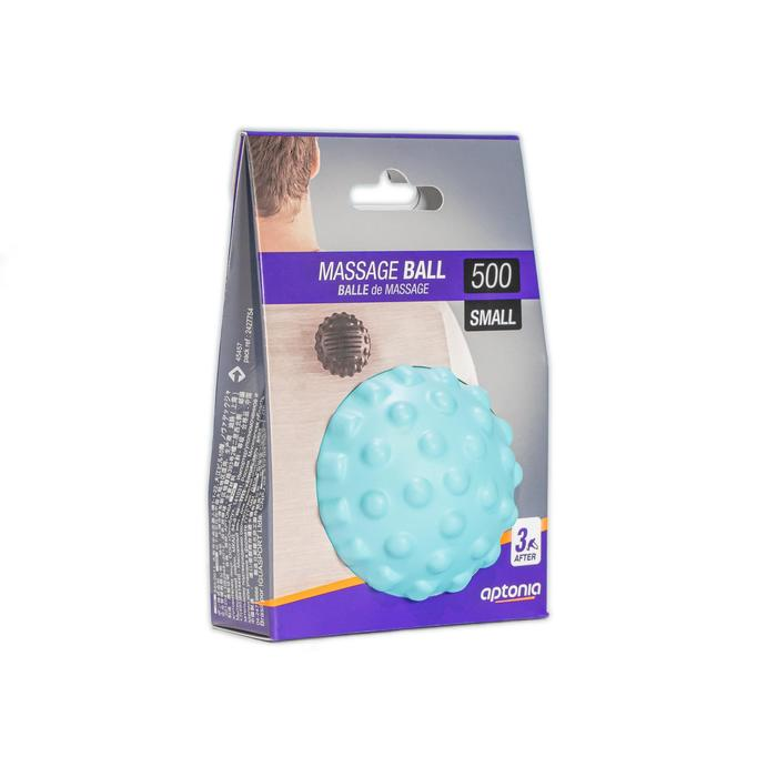 小型按摩球500-藍色
