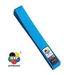 Cintura karate WKF 3.1M blu