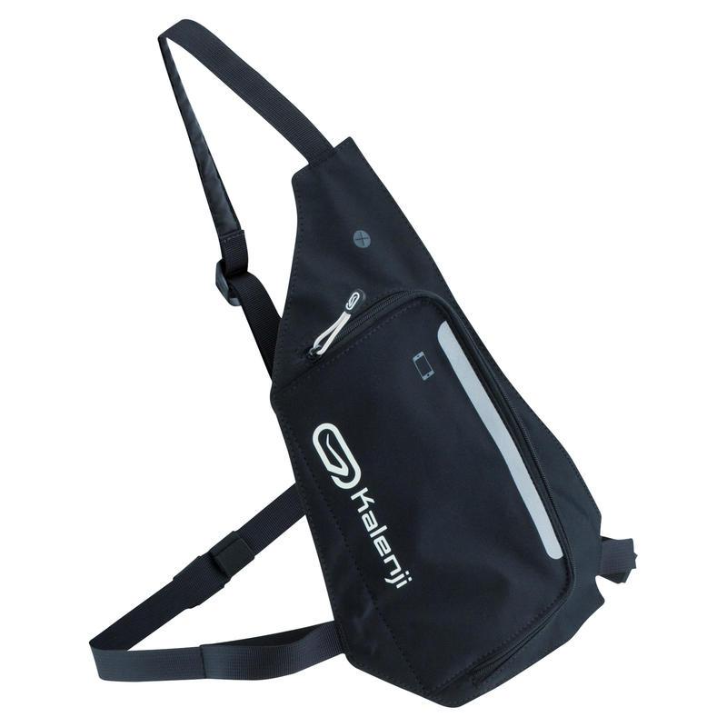 Běžecký batoh se 2 způsoby nošení černý