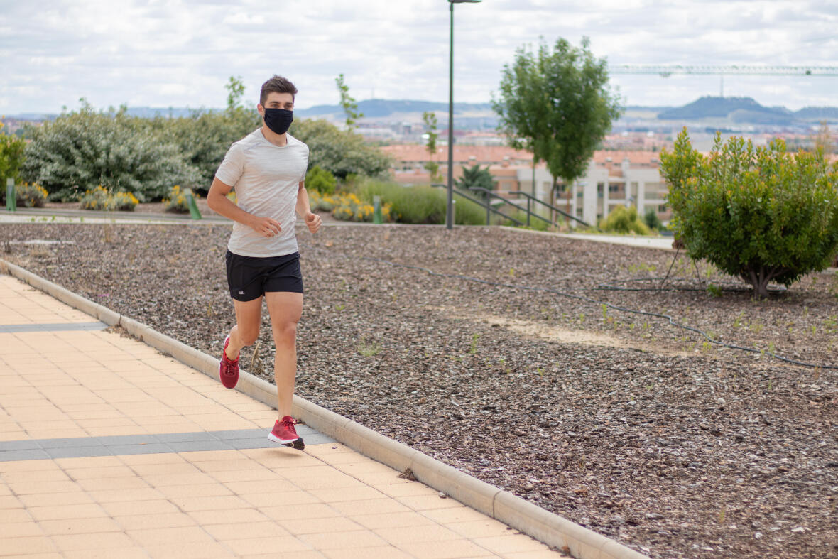 Running   6 things to do when you're running during Covid-19