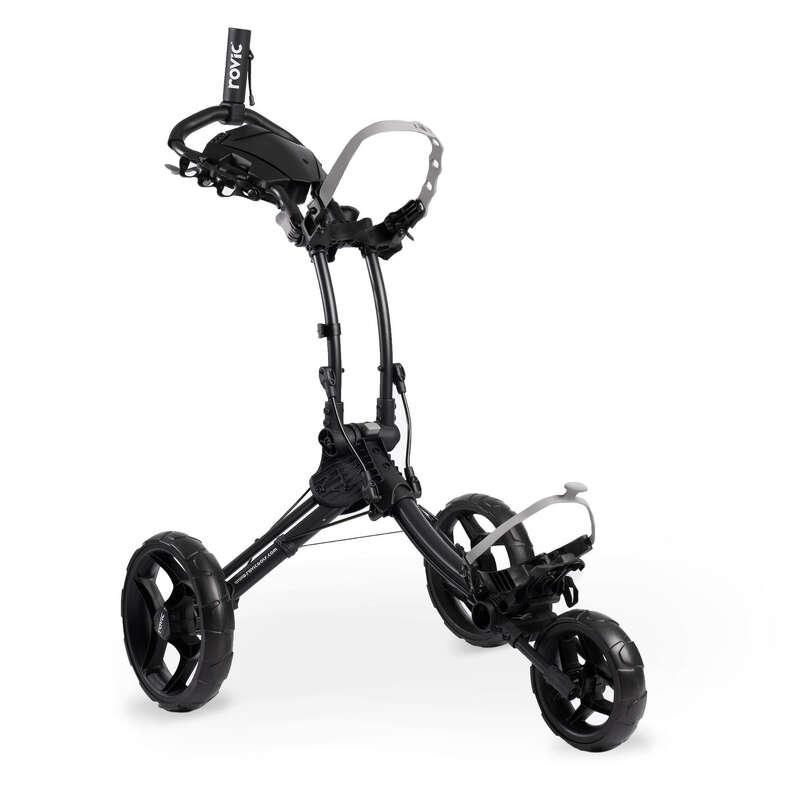Carrelli Golf - Carrello golf ROVIC RV1C nero CLICGEAR - Golf