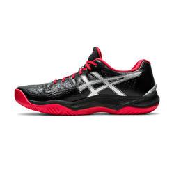 Chaussures de volley-ball Sky Elite Asics pour homme noires et rouges