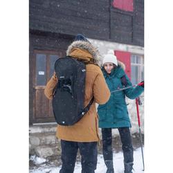 Tasche für Schneeschuhe Winterwandern SH100 schwarz